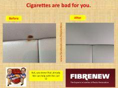 How To Fix Cigarette Burns In A Car Seat