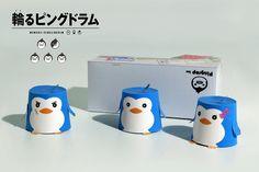 papertoy pinguin