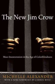 """Legal scholar/professor Michelle Alexander's book """"The New Jim Crow"""" regarding mass incarceration, the 13th Amendment, mandatory-minimums and three strikes laws, for-profit prison system and judicial/ legislative corruption in the United States"""