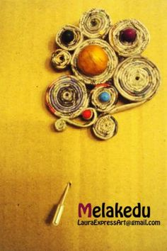 p Paper Bead Jewelry, Jewelry Making Beads, Diy Jewelry, Beaded Jewelry, Jewlery, Paper Mache Crafts, Paper News, Paper Design, Newspaper