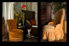 Style déco rétro, Napoléon III, maison de décoration, vente d'objets et meubles anciens et rares