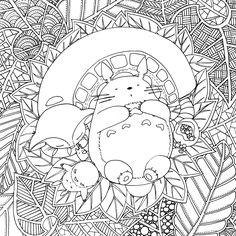 Hey ! Voilà le deuxième dessin de la série de coloriages Ghibli =) (cliquer pour agrandir) EN : Here is the second Ghibli inspired coloring print (click to enlarge) Enjoy =) Bon dimanche !