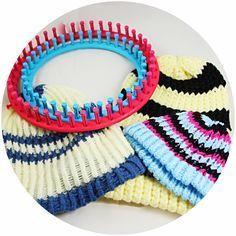 Knitting Loom, Mütze,Strickring,