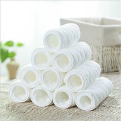 Sale 1x 5layers comfort microfiber/& bamboo insert for ALVA BABY cloth diaper