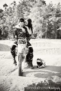 Motocross engagement. <3