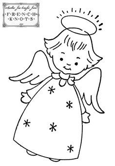 40 Best Angel Templates Images Angel Crafts Christmas Angels Embroidery Patterns
