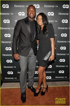 Gabrielle Union and Dwayne Wade - At the 'GQ Men' Book Celebration in Miami, Fla.  (October 2013)