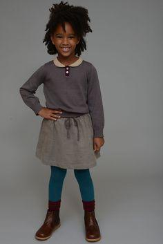 Peter Pan Collar Sweater | Olive Juice #girlsfashion #AW2014