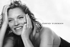 Kate Moss Poses in Black & White for David Yurman Fall Ads by Peter Lindbergh Peter Lindbergh, Kate Moss, David Yurman, Cara Delevingne, Who What Wear, Celebrity Style, Autumn Fashion, Black And White, Celebrities