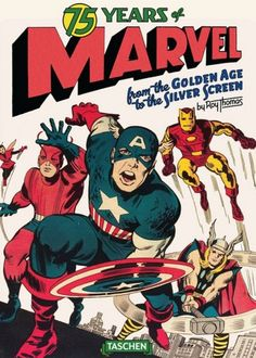 75 Years Of Marvel Oversized Book Set For Fall 2014 (PR)