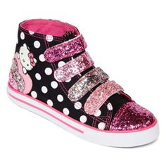 9aa5912ae6e1a Hello Kitty hightop designed by Heather Lee Allen for JCPenney stores. To  view more of