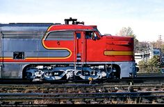 RailPictures.Net Photo: ATSF 74 Atchison, Topeka & Santa Fe (ATSF) Alco PA-1 at Kansas City, Missouri by Steve Patterson
