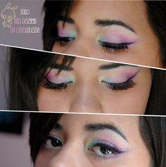 My unicorn makeup http://rrrrrrraw.blogspot.com.br/2013/02/tutorial-baby-unicorn-makeup.html