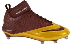 Football Cleats are like the Endoplasmic reticulum because it transports the players across the field just like the Endoplasmic Reticulum transports things in the cell.