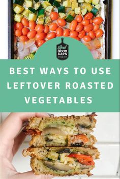 We're sharing the best ten Ways to use Leftover Roasted Vegetables. Whether you overestimated your dinner needs or want to meal prep for the week ahead, there are so many ways to use roasted vegetables! #roastedvegetables #mealideas #mealprep #healthyrecipes Healthy Eating Tips, Healthy Cooking, Healthy Dinner Recipes, Vegetable Frittata, Lentil Pasta, Frittata Recipes, Homemade Hummus, Quick Weeknight Meals, Meal Prep For The Week
