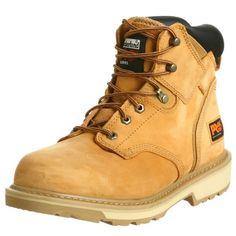"Timberland PRO Men's Pitboss 6"" Soft-Toe Boot,Wheat,12 M - http://authenticboots.com/timberland-pro-mens-pitboss-6-soft-toe-bootwheat12-m/"