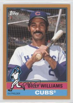 2015 Topps Archives Gold #193 Billy Williams Chicago Cubs Baseball Card #ChicagoCubs