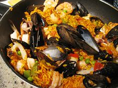 Paella Recipe--keeping that Spanish theme going of delectable companionship (this is one of my favorite feast dishes to prepare and share)
