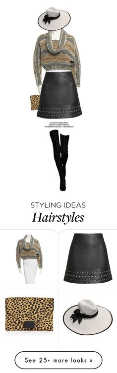 """Untitled #1294"" by zayngirl1dlove on Polyvore featuring Yigal Azrouël, Loeffler Randall and Topshop"