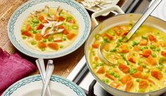 MAGGI Rezeptidee fuer Veganes Kürbis-Kokos-Curry