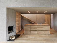 Interior Design, Architecture, Modern Furniture - Part 2 Concrete Architecture, Residential Architecture, Interior Architecture, Futuristic Architecture, Concrete Interiors, Box Houses, Deco Design, Kitchen Interior, Exterior Design