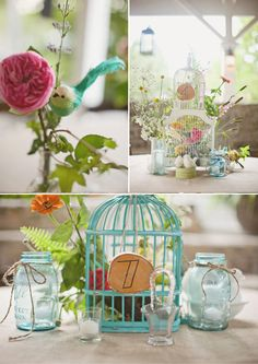 bird cage arrangements | Vintage Birdcages For Weddings {Wedding Decoration Inspiration #ww ...