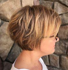 Short Textured Bob Haircut