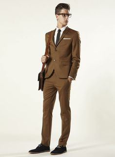 Topman - Fudge Brown Skinny Suit | Currently unavailable… I must find one