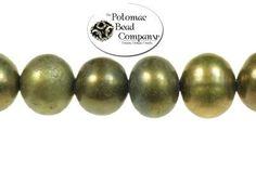 Freshwater pearls. Potomac Bead Company, Medina Ohio