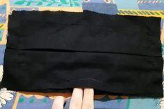 Zošité rúško čiernou niťou. Bags, Masks, Handbags, Bag, Totes, Hand Bags