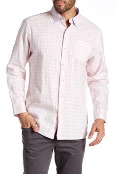 Sydney Squares Long Sleeve Shirt