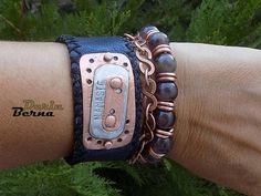 Namaste men braceletYoga men braceletMen leather