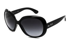 Ray-Ban RB4098 Jackie Ohh II 601 8G Jackie O Sunglasses, Black Sunglasses 84606601eed5