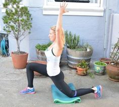 Hip Flexor Stretch Post Run Stretches, How To Run Longer, Health Tips, Exercise, Running, Workout, Ejercicio, Keep Running, Work Out