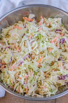 This is by far the most delicous and guilt keto coleslaw you will ever taste. Click the link to get a simple Keto Coleslaw Dressing recipe. Best Coleslaw Recipe, Kfc Coleslaw, Creamy Coleslaw, Vinegar Coleslaw, Healthy Coleslaw, Creamy Cole Slaw Recipe, Coleslaw Salad, Coleslaw Recipe With Lemon Juice, Slaw Dressing Recipe Vinegar