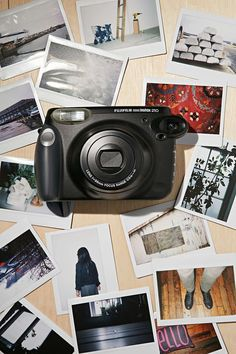 Fujifilm Instax 210 Wide Format Instant Camera If you miss your poloroid, this might be a great substitute!