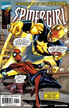 """Spider-girl """"Nova Appearance"""": T. May Parker, Spider Girl, Spider Women, Marvel Entertainment, Spider Verse, Marvel Vs, American Comics, Comic Covers, Book Covers"""