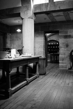 Castle Drogo: The Scullery - E.L. Lutyens