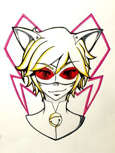 Chat Blanc (Miraculous Ladybug au) by AlternianButterfly.deviantart.com on @DeviantArt