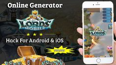 Get the latest Lords Mobile online hack that can generate unlimited Lords Mobile resources!  http://lordsmobile.gamecheat4android.com/