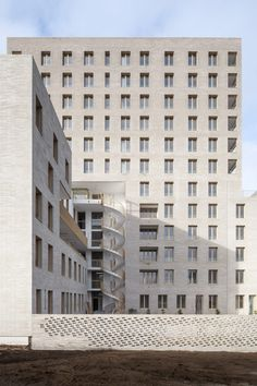 Zellige is a social housing complex in Nantes, France, designed in a collaboration between French architecture studios Tectône and Tact Architectes.