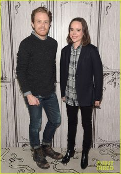 Ellen Page Promotes New Docu-Series 'Gaycation' in NYC | ellen page aol build series nyc 01 - Photo