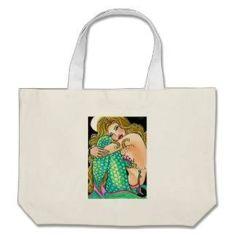 Mermaid Tote Bag $28.95 www.mermaidhomedecor.com