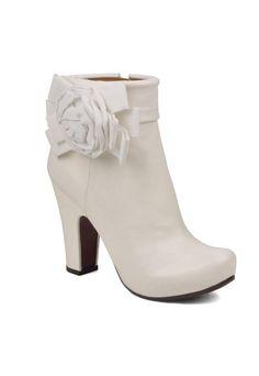 Bottines mariage : Porter des bottines pour mon mariage en hiver - Accessoires mariage hiver: Mes accessoires pour un mariage en hiver