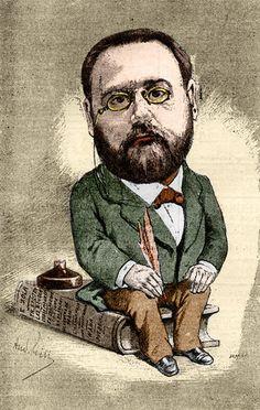 Emile Zola 1880