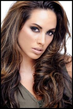 Best Highlight For Brown Hair | The effect is may be made more melodramatic in nature with lighter or ...