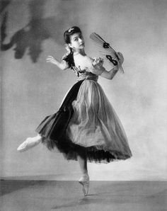 Margot Fonteyn in Apparitions, 1940