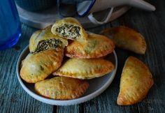 Empanadas, Ravioli, Bagel, Feta, Muffin, Pizza, Bread, Snacks, Breakfast