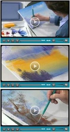 94 Free Do It Yourself Beginning Artist Videos - Jerry's Artarama lets you enjoy eight hours worth of free, easy, five minute how-to videos for beginners at drawing, watercolors, acrylic painting and working with pastels. The lessons cover all of the basics. They are all by talented professional artists who share their tips and techniques. (Photo: Beginning artist video demonstrations by Susan Scheewe) Just click through to see how you can learn while watching your favorite videos. by ...