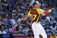 Sixty-one. It's a huge number in most cases, but Miami Marlins outfielder Giancarlo Stanton didn't seem to have many issues reaching it…